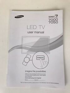 samsung led tv series 5 5003 manual