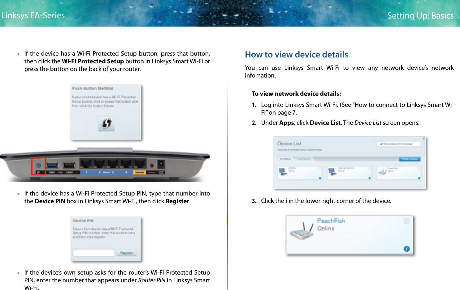 Linksys smart wifi manual setup