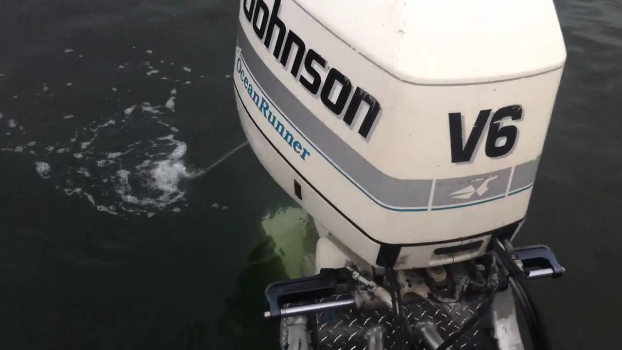 Johnson 90 hp outboard motor manual