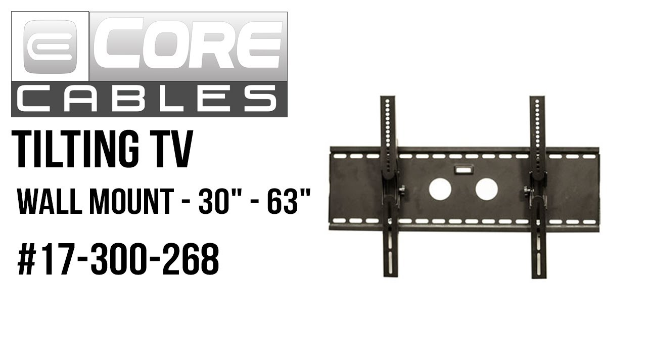 whalen tv wall mount instructions