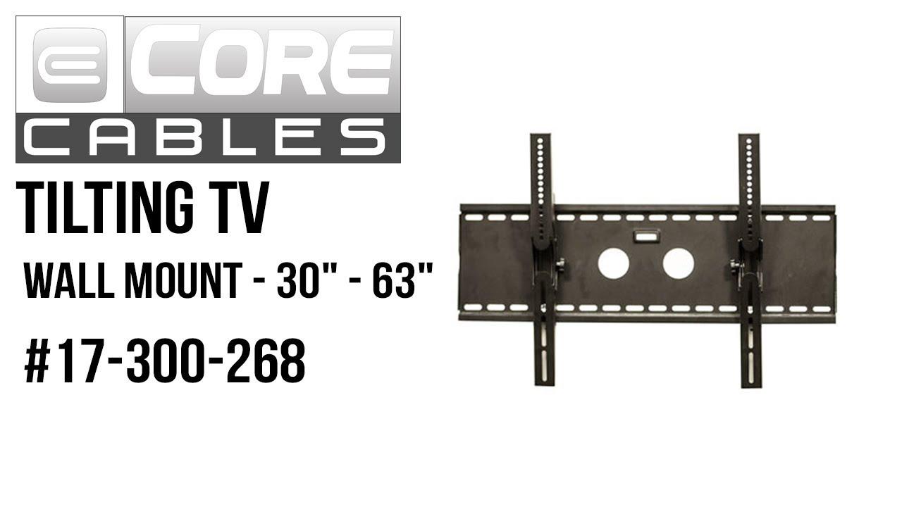 whalen tv wall mount instructions