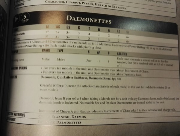 Chaos daemons faq 8th edition pdf