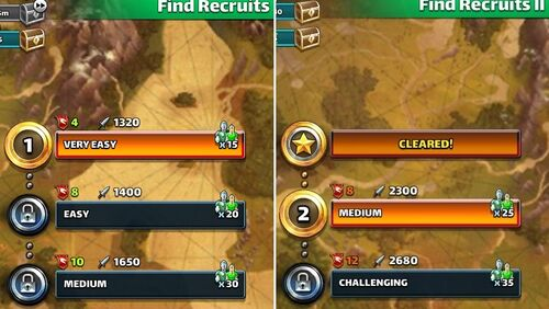 Empires and puzzles how to get recruits