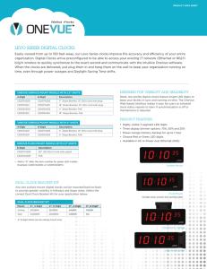 primex wireless clock instructions