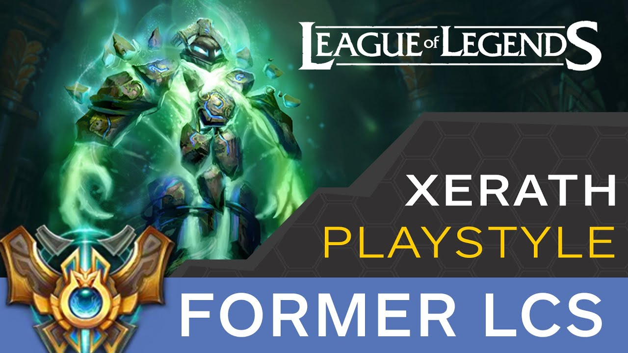 Lol xerath how to play