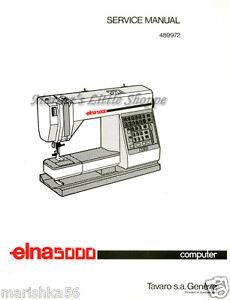 elna club computer sewing machine manual