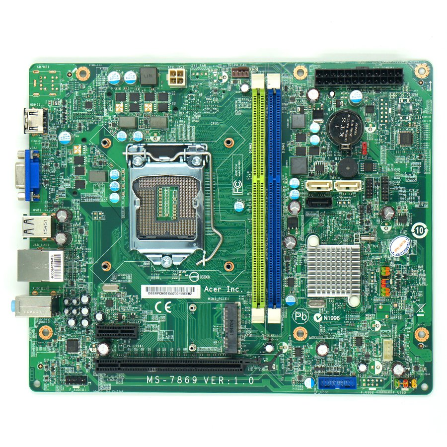 Acer aspire tc 605 motherboard manual