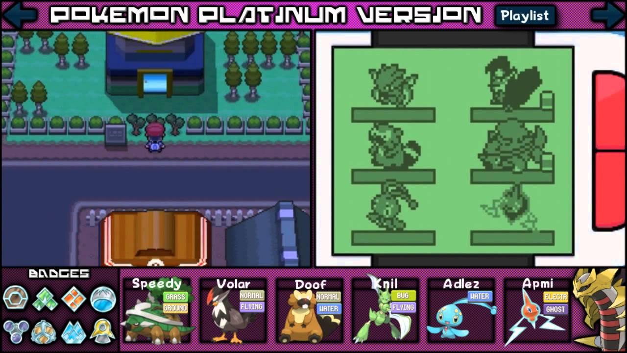 Pokemon platinum how to get heatran