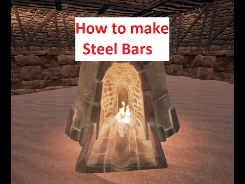 Conan exiles how to make reinforced steel