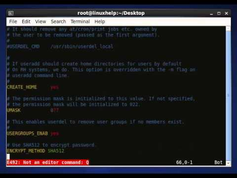 Linux how to create user home directory redhat