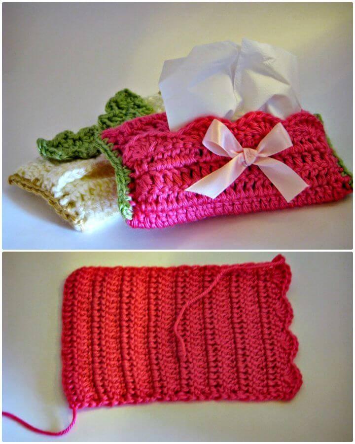 tissue box cover instructions crochet