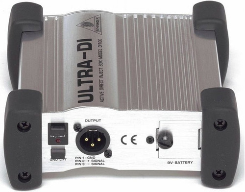 behringer ultra-di di100 direct box manual