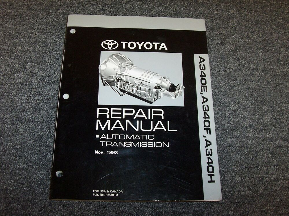 1994 toyota pickup service manual