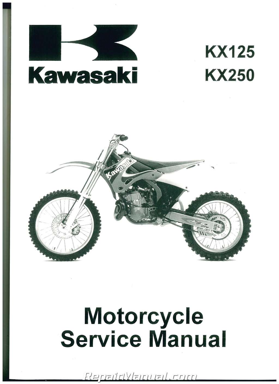 1999 kx 80 online service manual