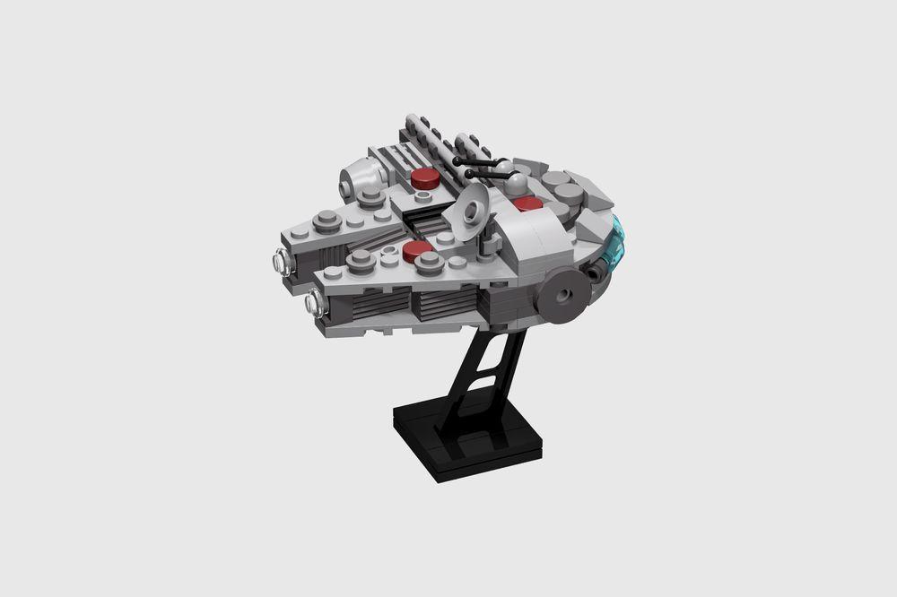 lego millennium falcon moc instructions