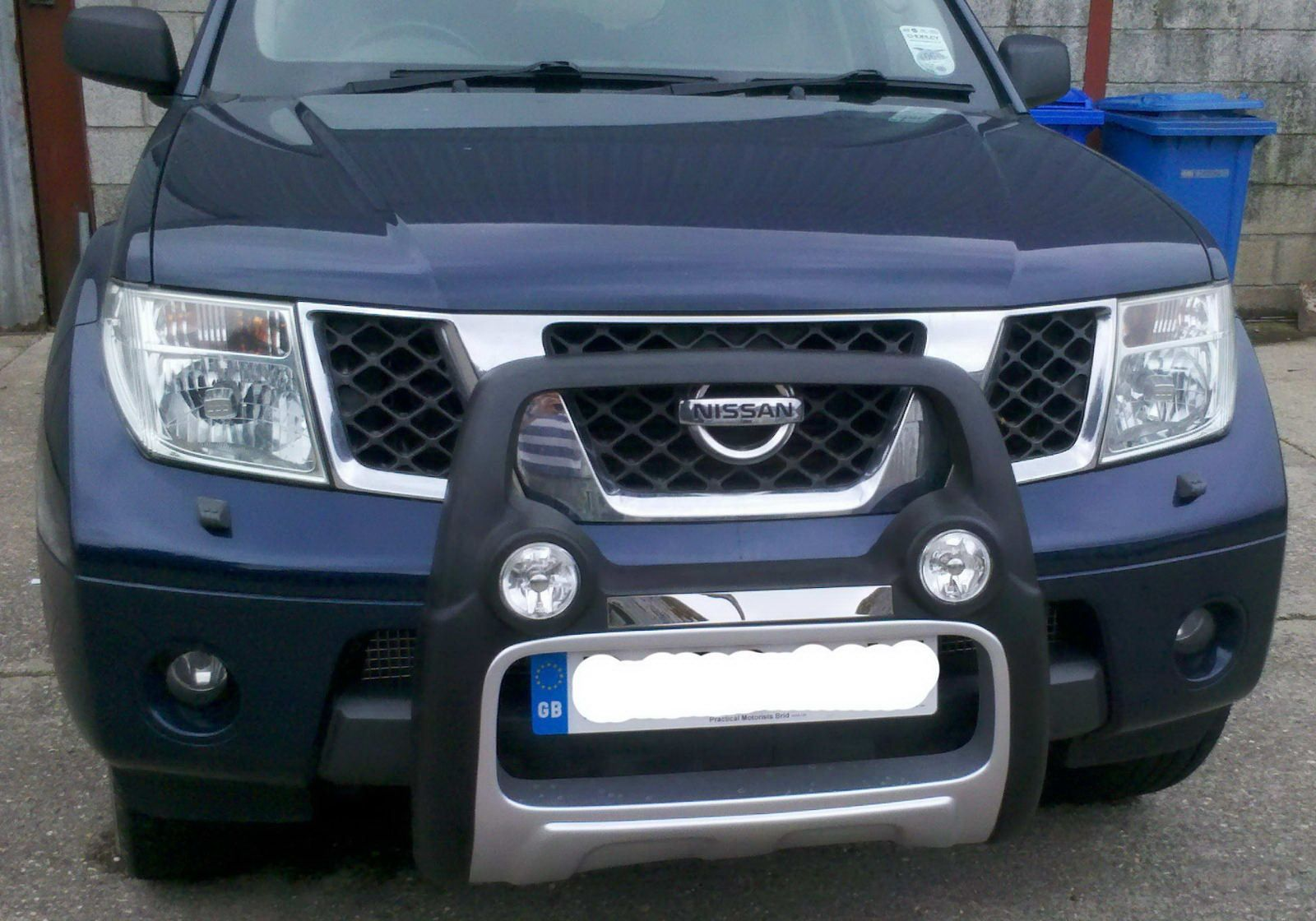 nissan navara d40 nudge bar fitting instructions