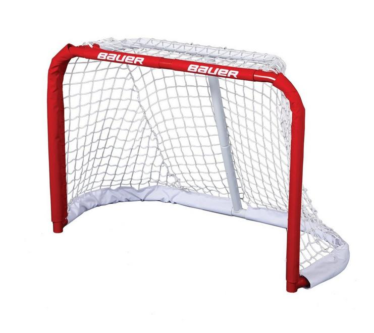 mini hockey net instructions
