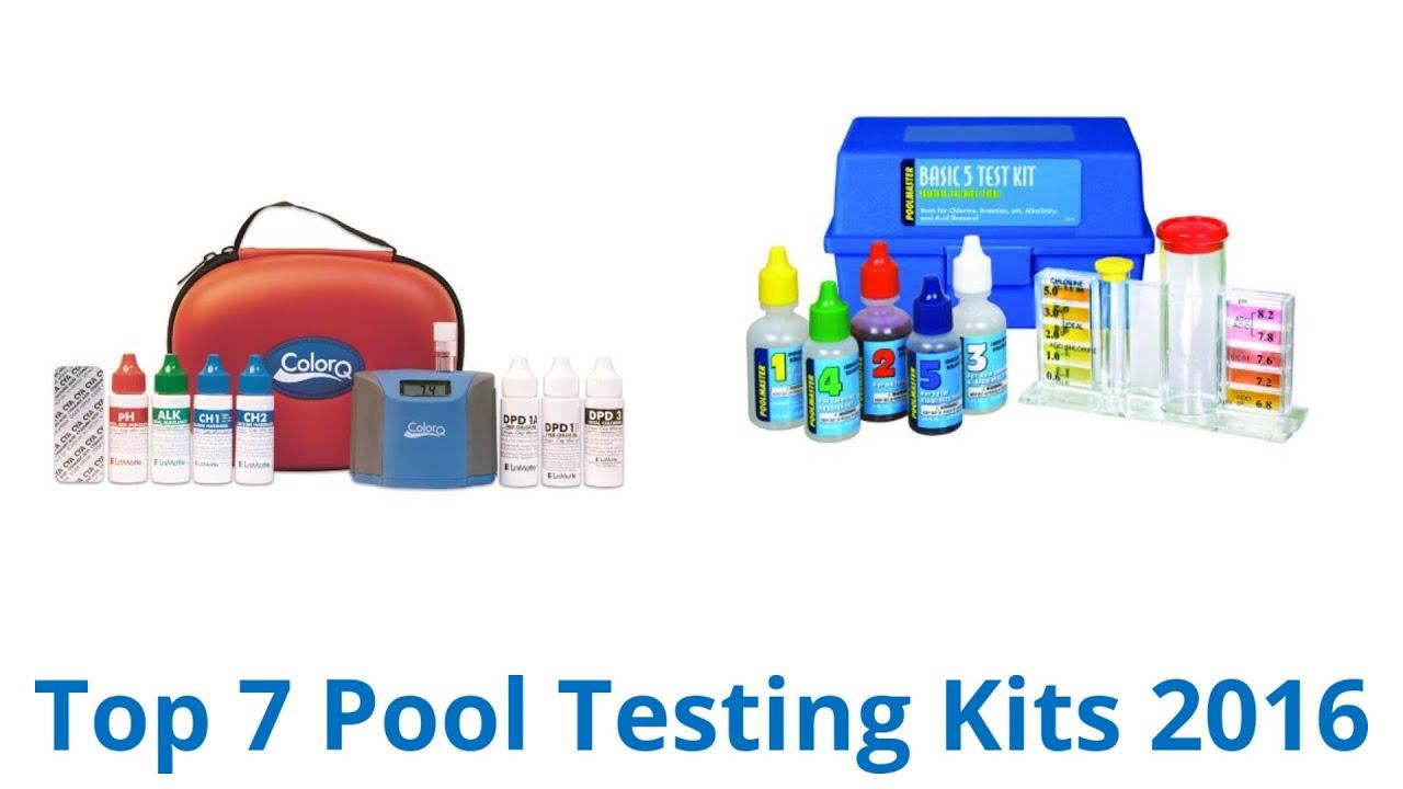 2 way pool test kit instructions