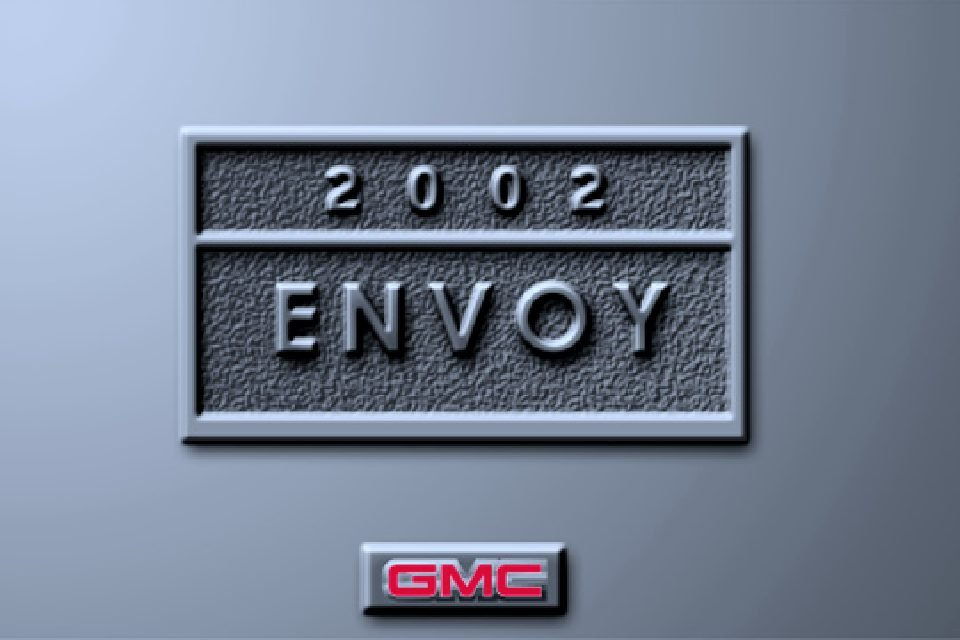 2002 gmc envoy slt owners manual