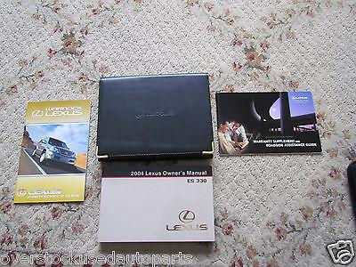 2004 lexus es 330 owners manual