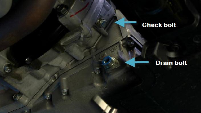 2006 honda accord manual transmission fluid check
