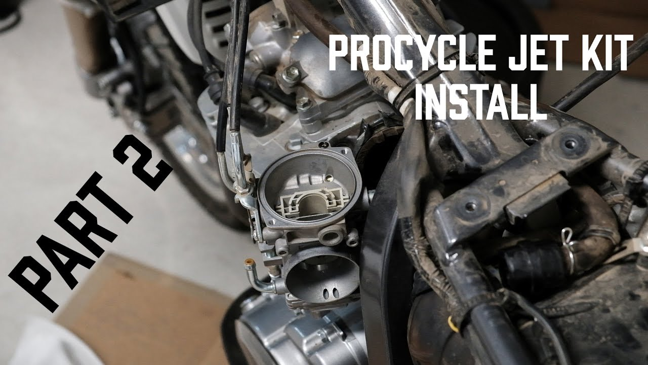 procycle dr650 jet kit instructions