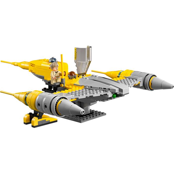 lego naboo starfighter instructions 75092