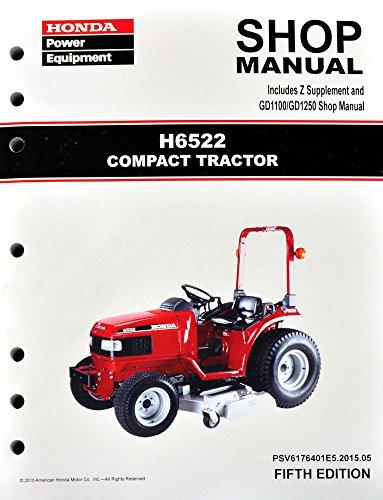 honda lawn mower shop manual