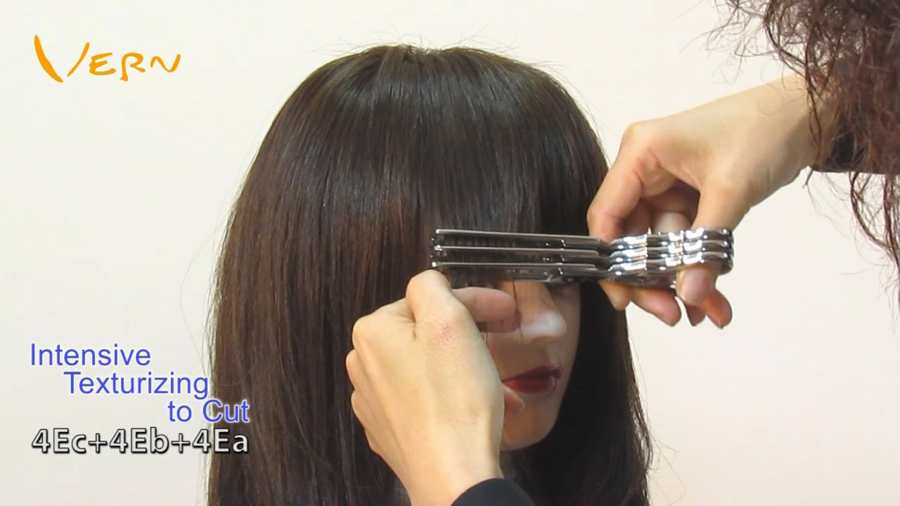 Wispy bangs how to cut
