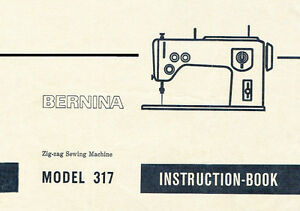 Bernina 1230 instruction manual free