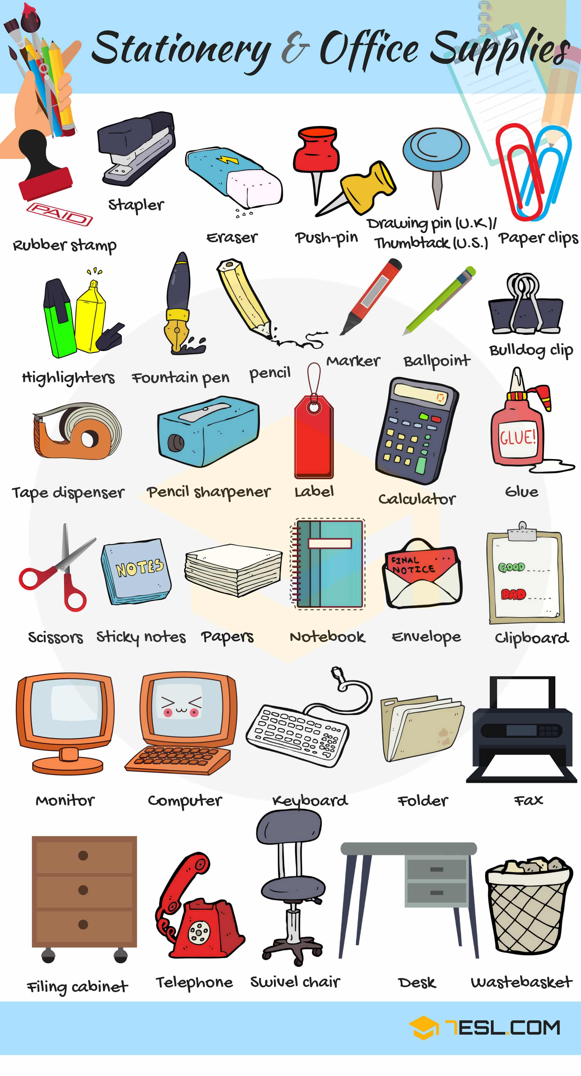 Electrical accessories with names pdf