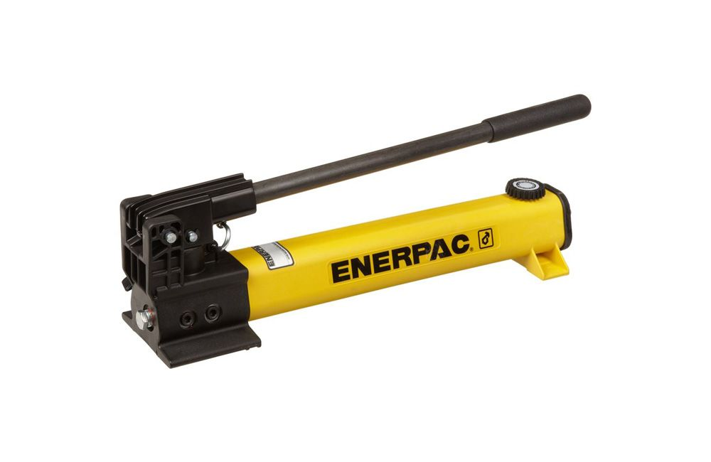 Bomba hidraulica manual enerpac press