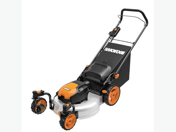 canadian tire manual lawn mower