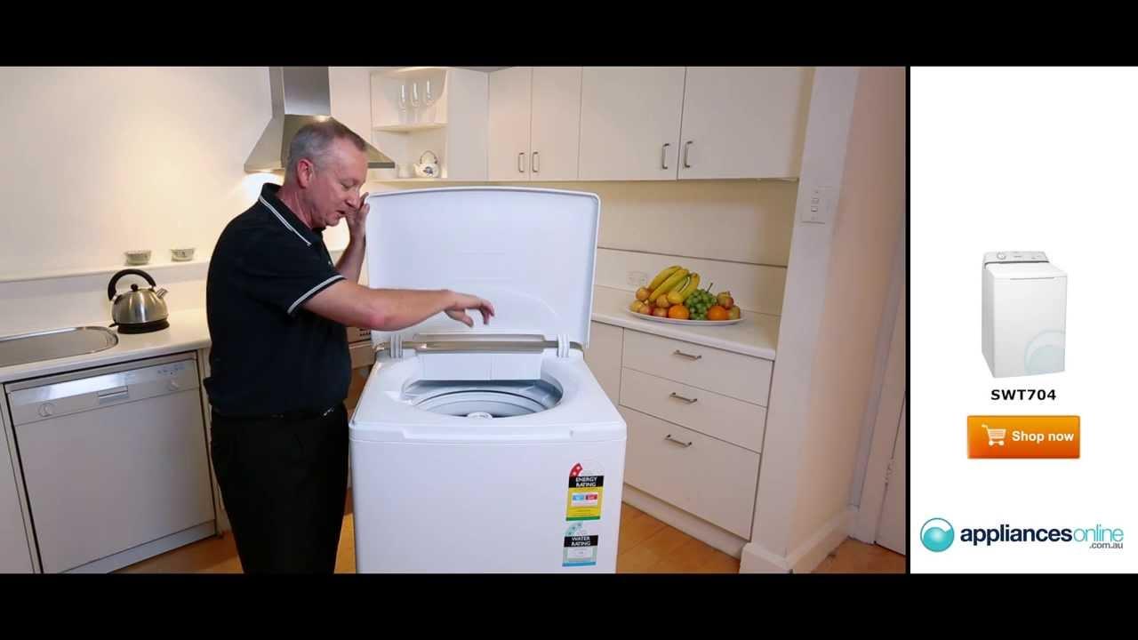 Simpson washing machine manual front loader