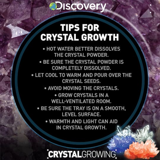 crystal growing kit instructions