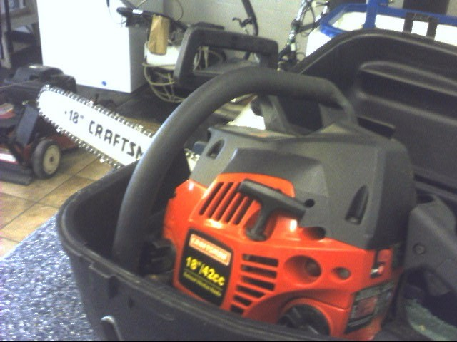 craftsman 18 42cc chainsaw owners manual