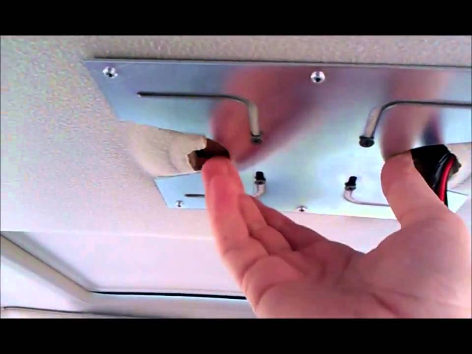 roof mount dvd player installation instructions