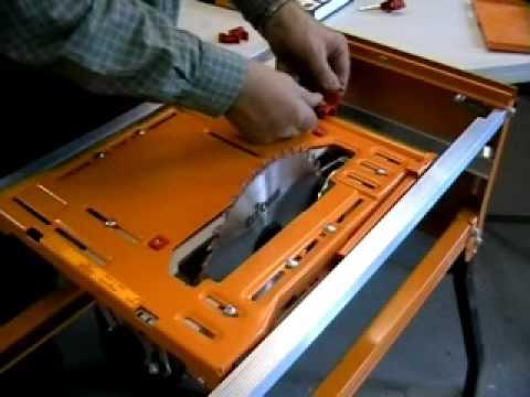 instruction manual on triton mk3 table saw