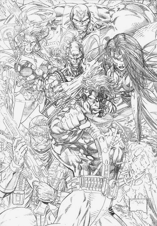 Jim lee how to draw book