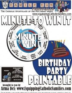 Minute to win it summer game activity guide pdf