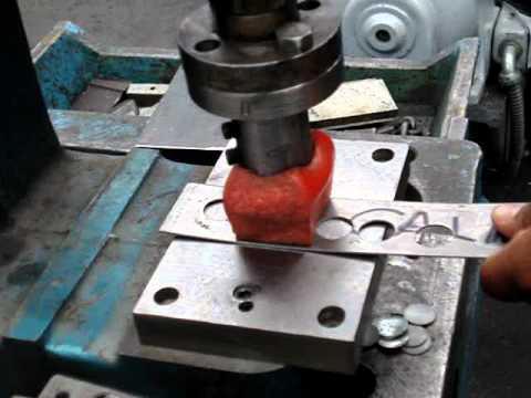 Troqueladora manual para joyeria pandora