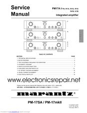 marantz pm 54 service manual