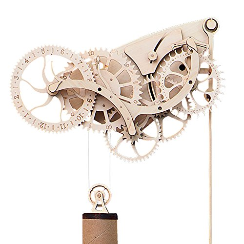 mechanical clock assembly instructions
