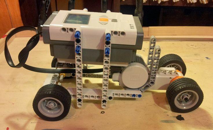 lego mindstorm instructions for a car