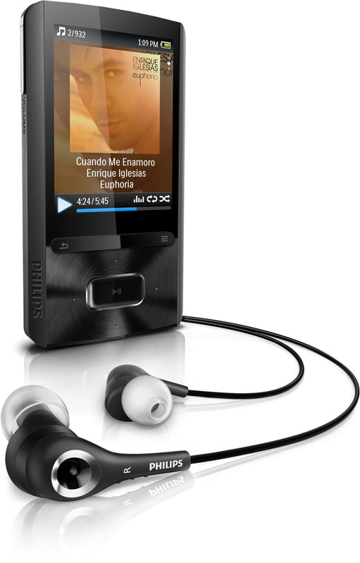 philips gogear ariaz 8gb mp3 player manual