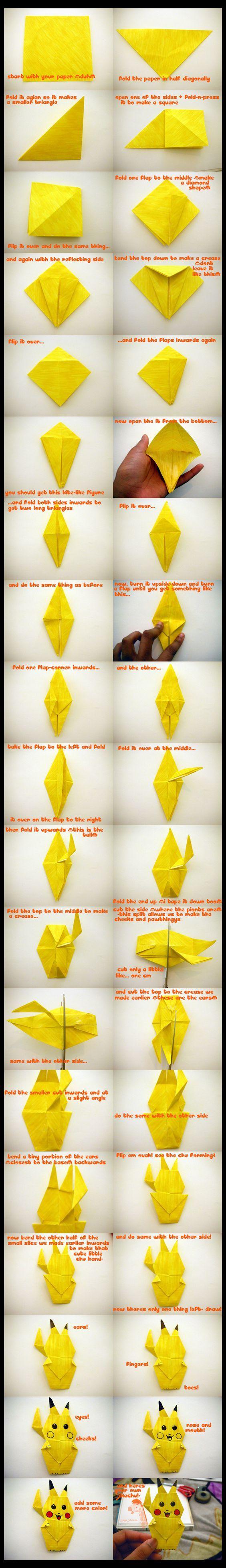 iblock fun pikachu instructions