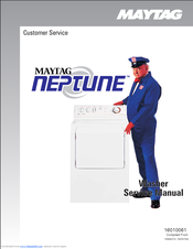 Maytag neptune front load washer manual
