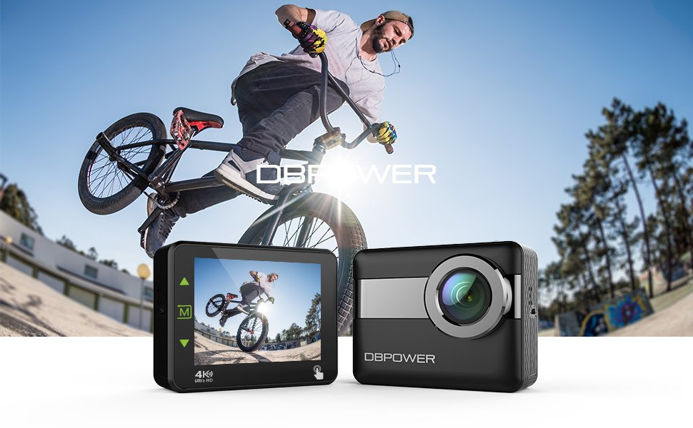 dbpower 4k action camera instructions