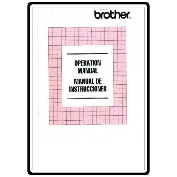 brother vx 540 manual free
