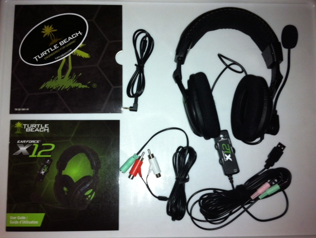 turtle beach x12 xbox 360 manual